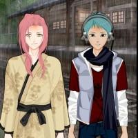 Ninja Versus Pirate Dressup Game