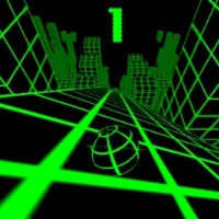 Slope: Neon Ball Rolling Game